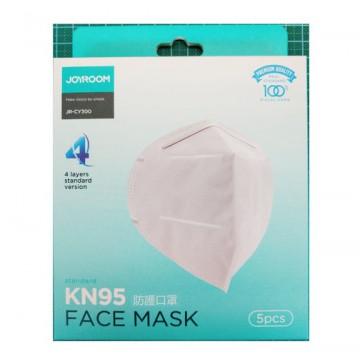 Защитная маска JOYROOM JR-CY300 KN95 4 слоя  5 шт. в комплекте Original