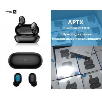 Беспроводные наушники Haylou GT1 PLUS Bluetooth гарнитура Qualcomm QCC3020 APTX Black