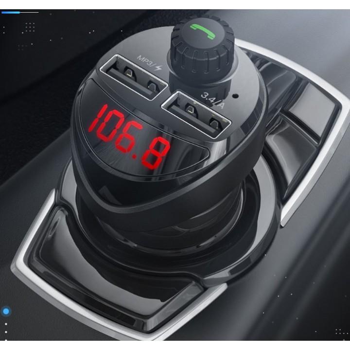 KUULAA автомобильное зарядное устройство с fm-передатчиком
