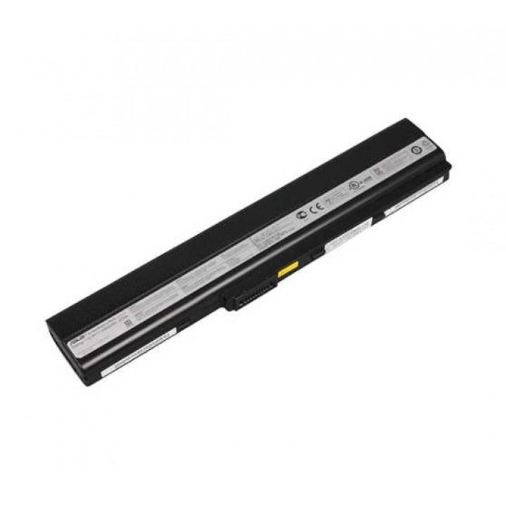 Аккумуляторная батарея VIGOOR для ноутбука  Asus A32-K52 10.8V 5200mah 6cell Black