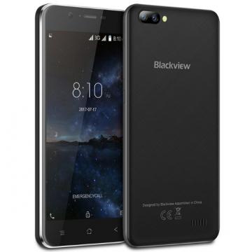 Смартфон Blackview A7 Black + силиконовый чехол