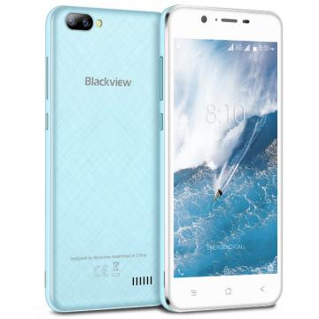Смартфон Blackview A7 Blue + силиконовый чехол
