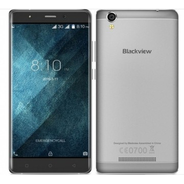 Смартфон Blackview A8 Max Grey + силиконовый чехол