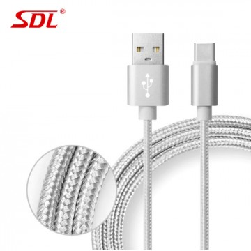 SDL Type-C Data Quick Charging Cable - 1M Gray