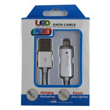 USB кабель iPhone 5 LED 3.0m 10FT