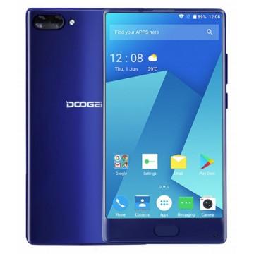 Смартфон Doogee MIX 6/64Gb Blue + фирменный чехол