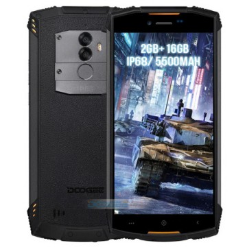Doogee S55 Lite IP68 Black/ orange