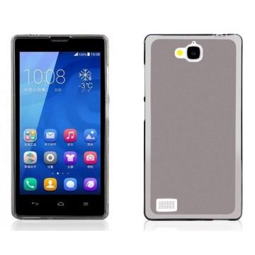 Чехол Чехол бампер силиконовый матовый для Huawei Honor 3C