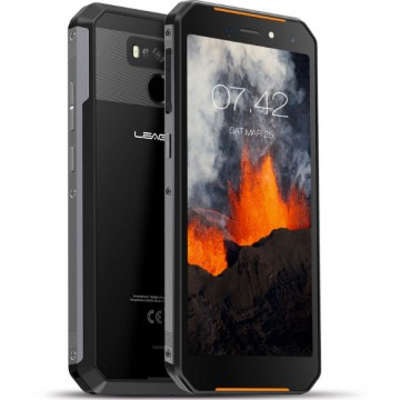 Смартфон Leagoo XRover C 2/16Gb NFC IP68 Black /Orange