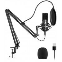 Студийный конденсаторный микрофон Maono AU-A04 USB Black