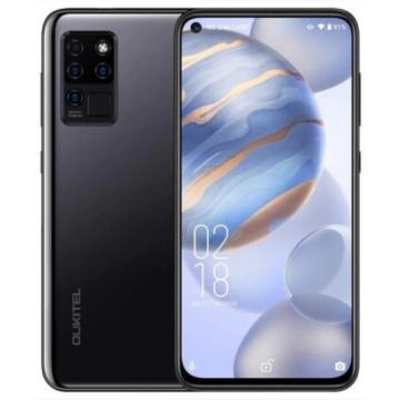 Смартфон Oukitel C21 4/64Gb Black + силиконовый чехол