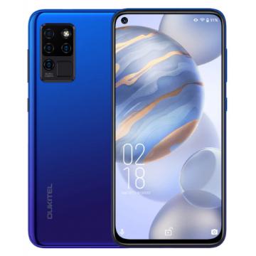 Смартфон Oukitel C21 4/64Gb Gradient Blue + силиконовый чехол