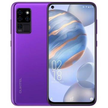 Смартфон Oukitel C21 4/64Gb Purple + силиконовый чехол