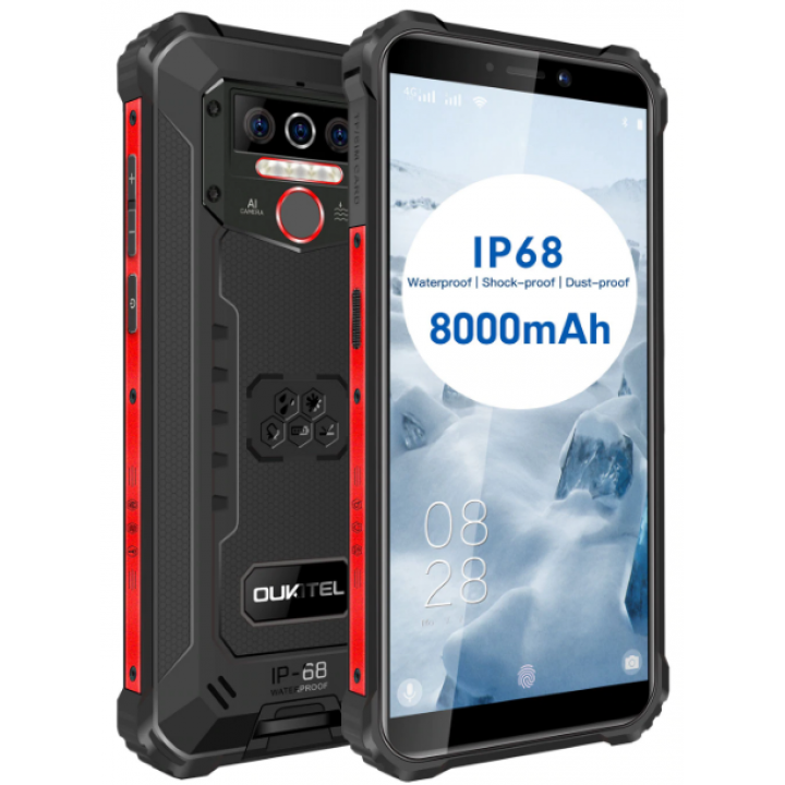 Смартфон Oukitel WP5 Pro 4/64Gb IP68 Black