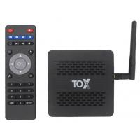 Смарт ТВ TOX1  TV Box Smart Amlogic S905X3  4/32Gb Android 9