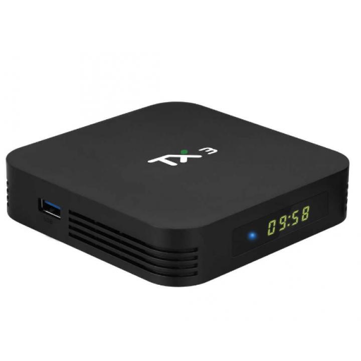 TANIX TX3 TV Box Smart Amlogic S905X3  8K 2,4G/5 GHz Dual Wifi BT 4,2 Android 9.0