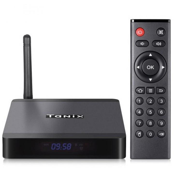 TANIX TX5 MAX TV Box Smart Amlogic S905X2 4/32Gb Android 8.1