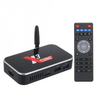 Смарт ТВ  UGOOS X3 Cube TV Box Amlogic S905X3  2/16GB