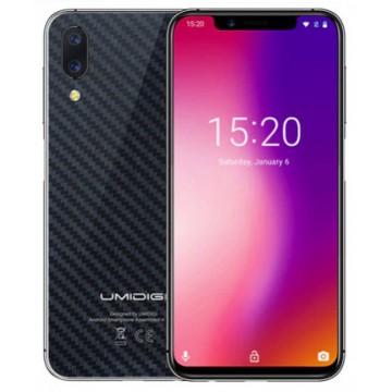 UMIDIGI One Pro 4/64Gb NFC Carbon Fiber+ фирменный чехол