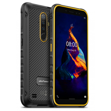 Смартфон Ulefone Armor X8  4/64Gb IP69K/IP68 NFC 5080mAh Orange
