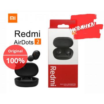 Беспроводные наушники Xiaomi Redmi AirDots 2  Bluetooth Black