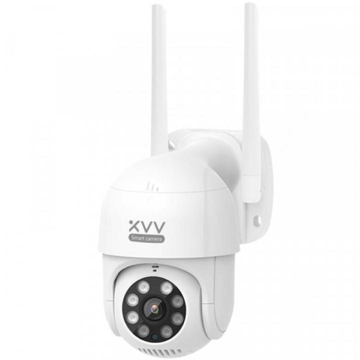 IP камера наружного наблюдения Xiaomi Xiaovv Outdoor PTZ Camera 2K HD XVV-3630S-P1 White