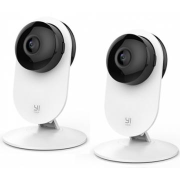 IP-камера Xiaomi YI 1080p Home Camera  YYS.2016 Международная версия Family Pack 2 in 1 White Комплект 2шт.