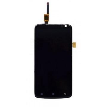 Дисплей (тачскрин + LCD экран) для для Lenovo S820, оригинал